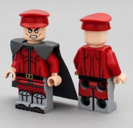 Street Fighter Genuine Lego Custom Printed RYU Lego Minifigure NEW