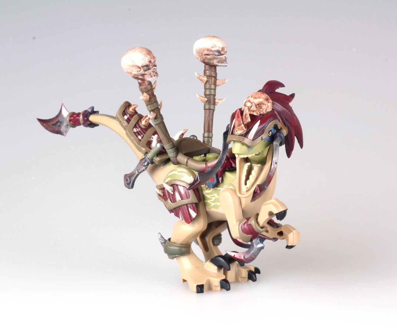 Custom Lego Warcraft Vicious War Raptor
