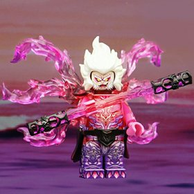 Custom Lego Minifigure Evil Soul Sun Wukong (孙悟空)