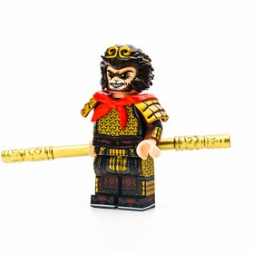 Custom Lego Minifigure Sun Wukong (孙悟空) by Minifigs Factory