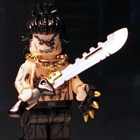 Custom Lego Minifigure Gangster