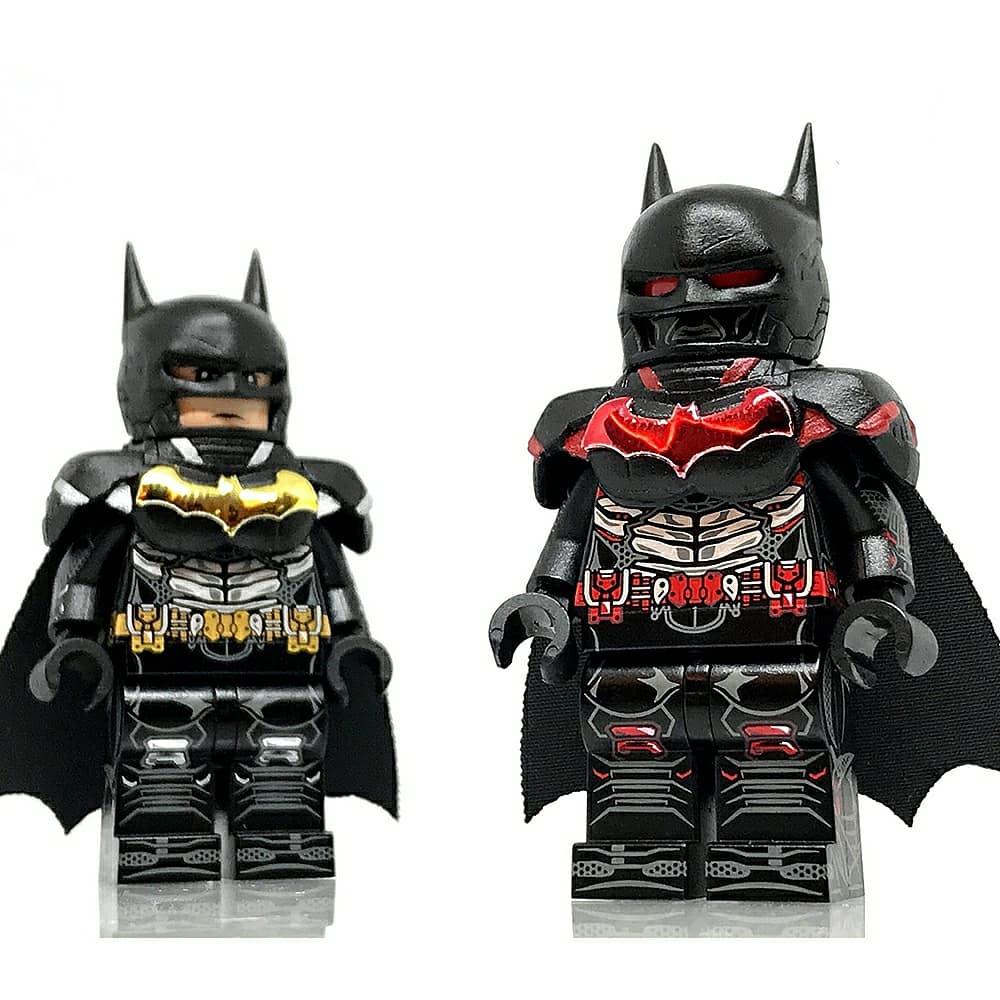 Custom Lego Minifigure Batman, Arkham Knight | Loot A Brick