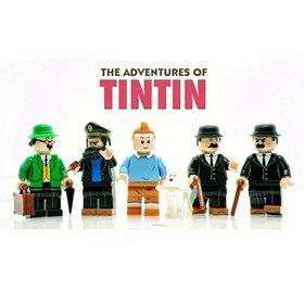 Custom Lego Adventures of Tin Tin Minifigures