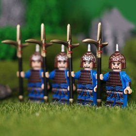 Custom Lego Minifigures Wei (魏) Soldiers